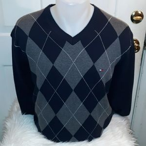 Tommy Hilfiger Sweaters - Tommy Hilfiger men's V-neck sweater